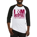 Unstoppable Multiple Myeloma Baseball Jersey