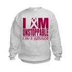 Unstoppable Multiple Myeloma Kids Sweatshirt