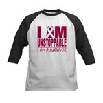 Unstoppable Multiple Myeloma Kids Baseball Jersey