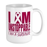 Unstoppable Multiple Myeloma Large Mug