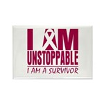 Unstoppable Multiple Myeloma Rectangle Magnet (100