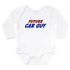 Cute Race car Long Sleeve Infant Bodysuit
