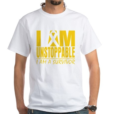 Unstoppable Neuroblastoma White T-Shirt