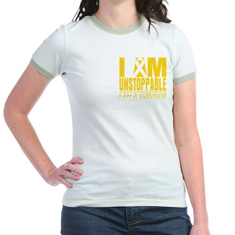 Unstoppable Neuroblastoma Jr. Ringer T-Shirt