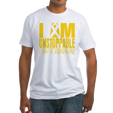 Unstoppable Neuroblastoma Fitted T-Shirt