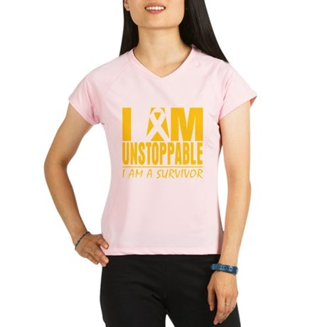 Unstoppable Neuroblastoma Performance Dry T-Shirt