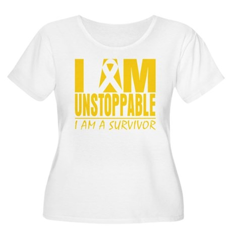 Unstoppable Neuroblastoma Women's Plus Size Scoop