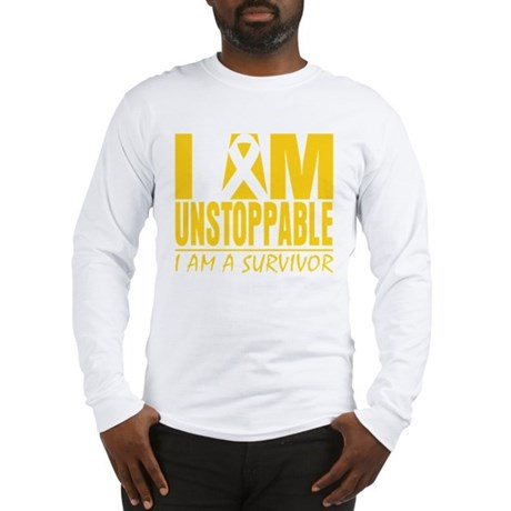 Unstoppable Neuroblastoma Long Sleeve T-Shirt
