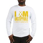 Unstoppable Neuroblastoma Long Sleeve T-Shirt