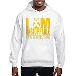 Unstoppable Neuroblastoma Hooded Sweatshirt
