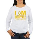 Unstoppable Neuroblastoma Women's Long Sleeve T-Sh