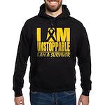 Unstoppable Neuroblastoma Hoodie (dark)