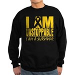 Unstoppable Neuroblastoma Sweatshirt (dark)