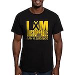 Unstoppable Neuroblastoma Men's Fitted T-Shirt (da