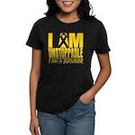 Unstoppable Neuroblastoma Women's Dark T-Shirt