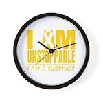 Unstoppable Neuroblastoma Wall Clock