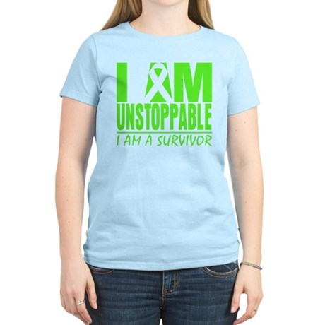 I Am Unstoppable Lymphoma Women's Light T-Shirt