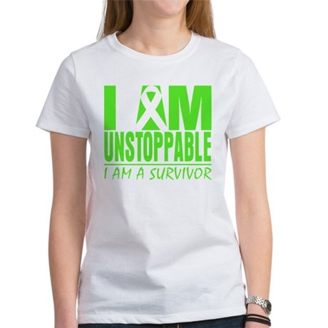 I Am Unstoppable Lymphoma Women's T-Shirt