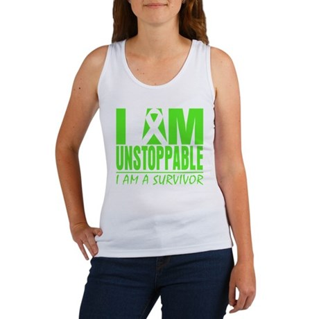 I Am Unstoppable Lymphoma Women's Tank Top