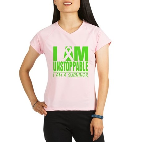 I Am Unstoppable Lymphoma Performance Dry T-Shirt