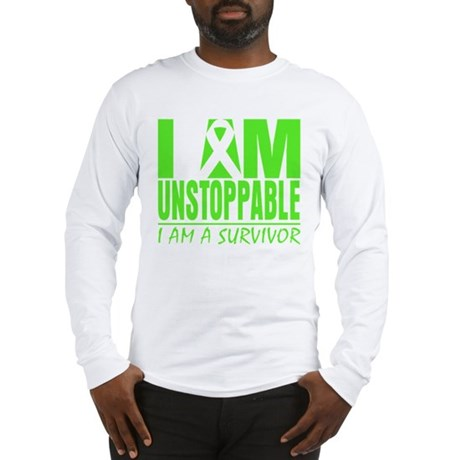 I Am Unstoppable Lymphoma Long Sleeve T-Shirt