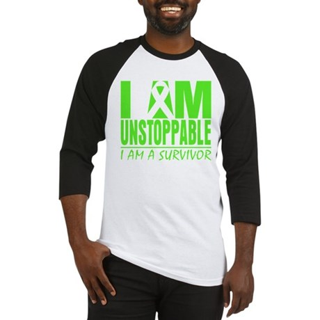 I Am Unstoppable Lymphoma Baseball Jersey