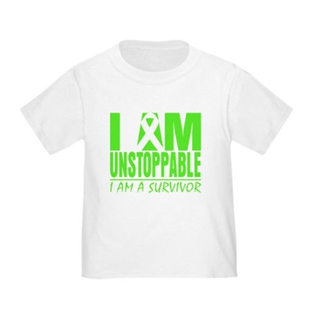 I Am Unstoppable Lymphoma Toddler T-Shirt