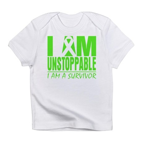 I Am Unstoppable Lymphoma Infant T-Shirt