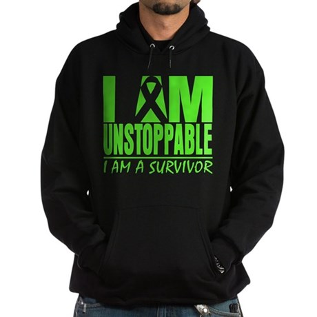 I Am Unstoppable Lymphoma Hoodie (dark)