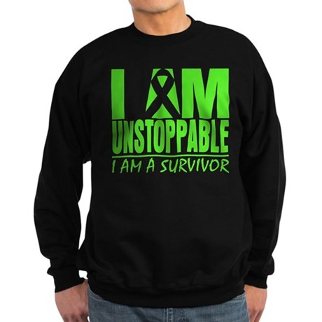 I Am Unstoppable Lymphoma Sweatshirt (dark)