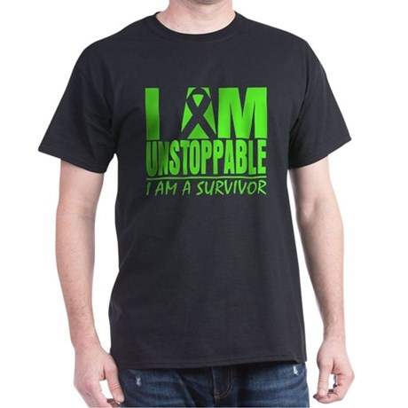 I Am Unstoppable Lymphoma Dark T-Shirt