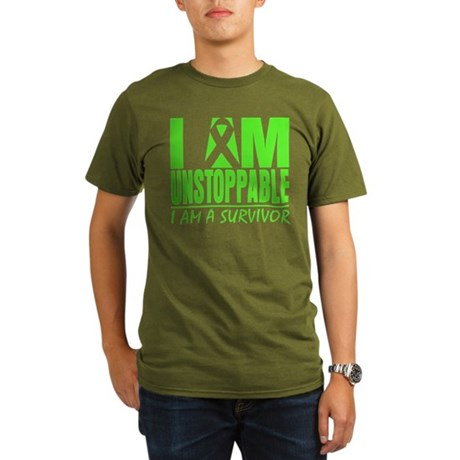 I Am Unstoppable Lymphoma Organic Men's T-Shirt (d