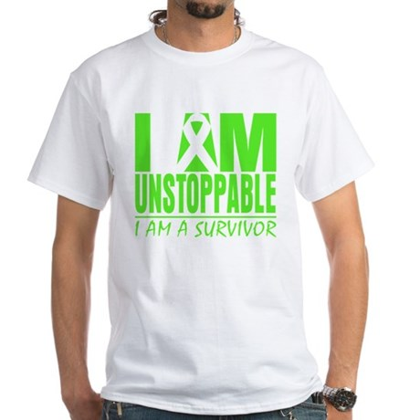 Unstoppable Non-Hodgkins White T-Shirt