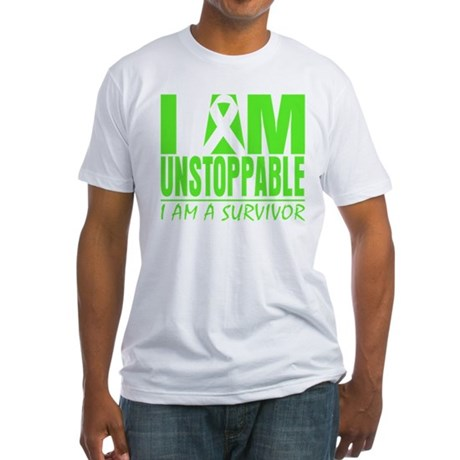Unstoppable Non-Hodgkins Fitted T-Shirt