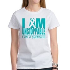 Unstoppable Ovarian Cancer Tee