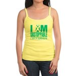 Unstoppable Ovarian Cancer Jr. Spaghetti Tank