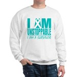 Unstoppable Ovarian Cancer Sweatshirt