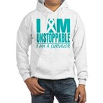 Unstoppable Ovarian Cancer Hooded Sweatshirt