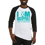 Unstoppable Ovarian Cancer Baseball Jersey
