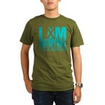 Unstoppable Ovarian Cancer Organic Men's T-Shirt (