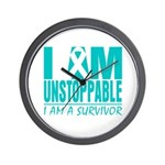 Unstoppable Ovarian Cancer Wall Clock