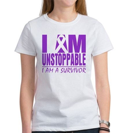 Unstoppable Pancreatic Cancer Women's T-Shirt