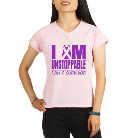 Unstoppable Pancreatic Cancer Performance Dry T-Sh