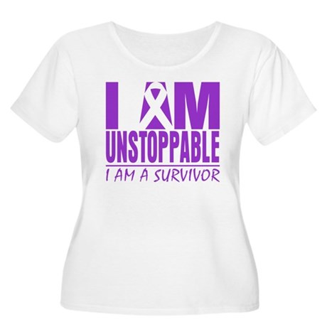 Unstoppable Pancreatic Cancer Women's Plus Size Sc