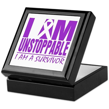 Unstoppable Pancreatic Cancer Keepsake Box