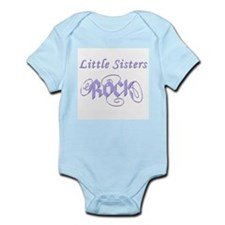 Little Sisters Rock Infant Bodysuit
