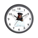 Rottie 5 Wall Clock
