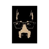 dobe-glasses-LTT.png Rectangle Magnet (10 pack)