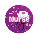 "Cute Nurse 3.5"" Button (100 pack)"
