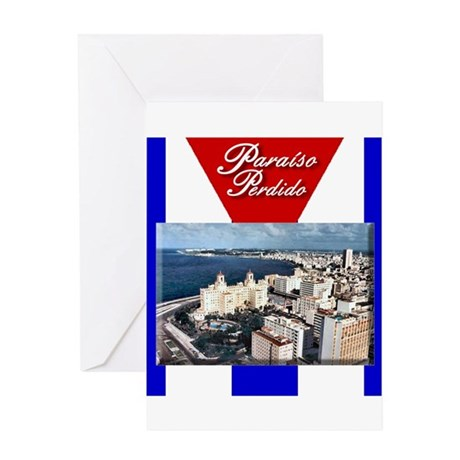 Havana view copy.png Greeting Card